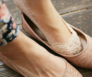 shoes, lace, and socks image
