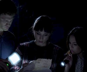 mona, spencer, and pll image