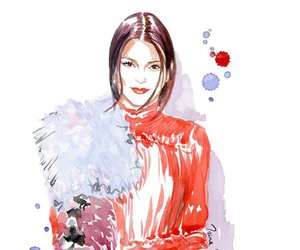 kendall jenner, art, and drawing image
