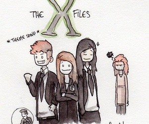 Laura, the x files, and carmilla image