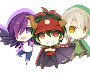 anime, a, and chibi image