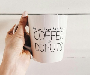 coffee and donuts image