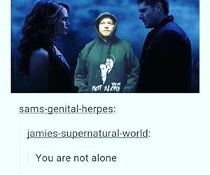 dean, supernatural, and castiel image