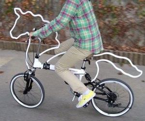 bike, unicorn, and horse image