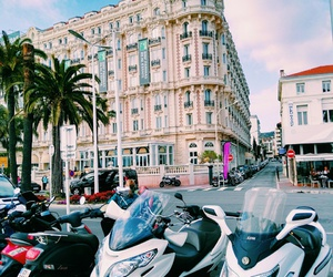 architecture, france, and motocycle image