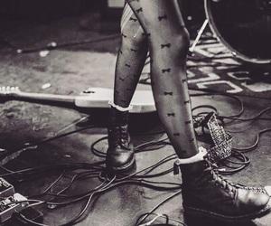 grunge, music, and guitar image