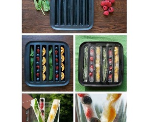 food, fruit, and ice image