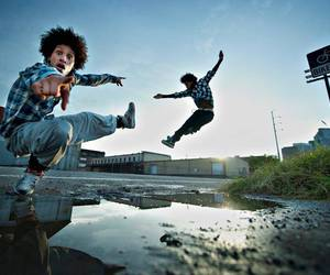 les twins, dance, and twins image