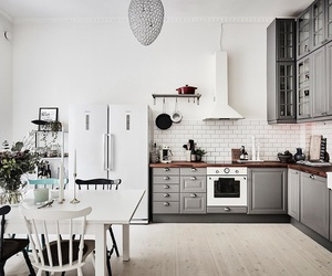 flat, kitchen, and home image