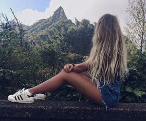 goals, mountains, and hair image