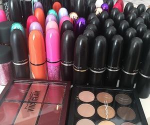 cosmetics, girls, and mac image
