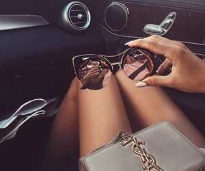 babe, eyewear, and glasses image