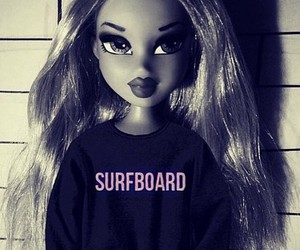 beyoncé, surfboard, and barbie image