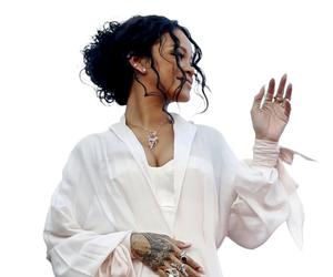 rihanna, riri, and white image