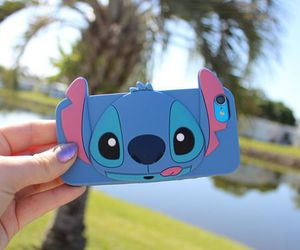 stitch, case, and blue image