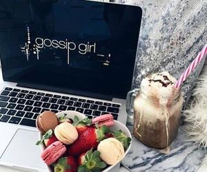 gossip girl, food, and fruit image