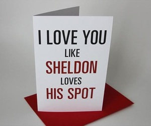 love, sheldon, and spot image