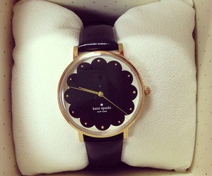 watch, kate spade, and black image