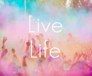 life, live, and party image
