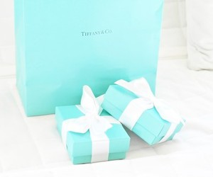 luxury, blue, and gift image