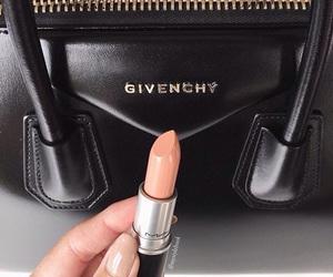 makeup, fashion, and bag image