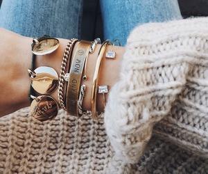 boho, bracelets, and elegante image