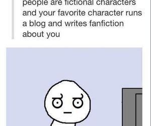 fanfiction, blog, and book image