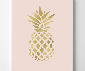 etsy, wall decor, and pineapple image