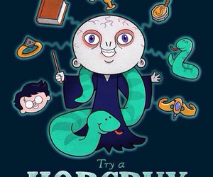harry potter, voldemort, and horcrux image