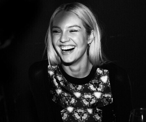 candice swanepoel, model, and smile image