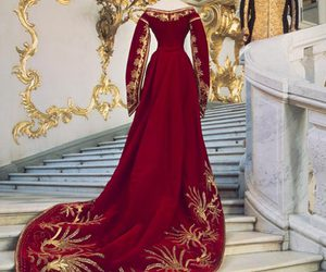 court, russian, and court dress image