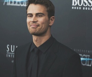 divergent, Hot, and theo james image