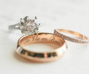 love, diamond, and marriage image
