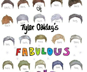 tyler oakley, fabulous, and hair image