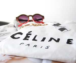 fashion, celine, and sunglasses image