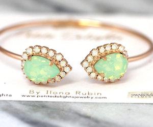 bracelet, etsy, and jewelry image