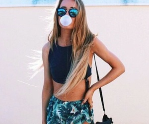 fashion, girl, and summer image