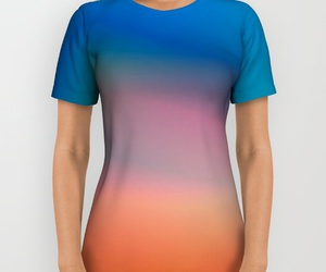 abstract, for her, and t-shirt image