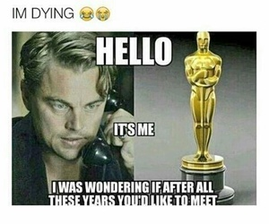 oscar, funny, and hello image