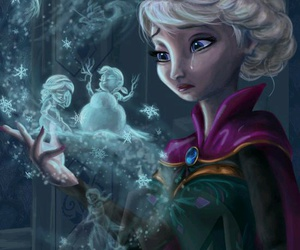 disney, frozen, and drawing image