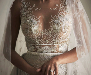 beautiful, bridal, and Couture image
