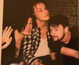 the 1975, ross macdonald, and george daniel image