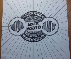 arctic monkeys, love, and black image