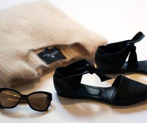sunglasses, fashion, and shoes image