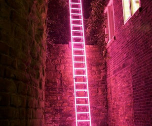 ambition, ladder, and light image