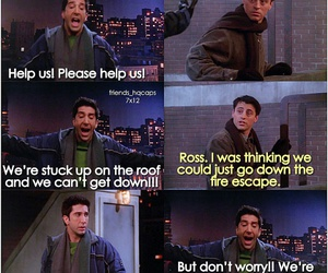 joey tribbiani, quote, and ross geller image