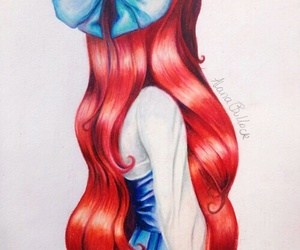 ariel, disney, and princess image