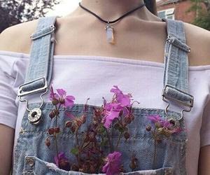 flowers, skin, and indie image