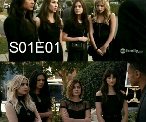 pll, pretty little liars, and Liars image