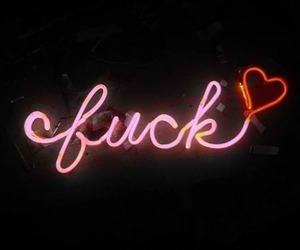 fuck, heart, and quotes image
